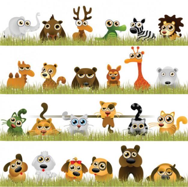 vecteur-interessant-les-animaux-+-+_34-33232